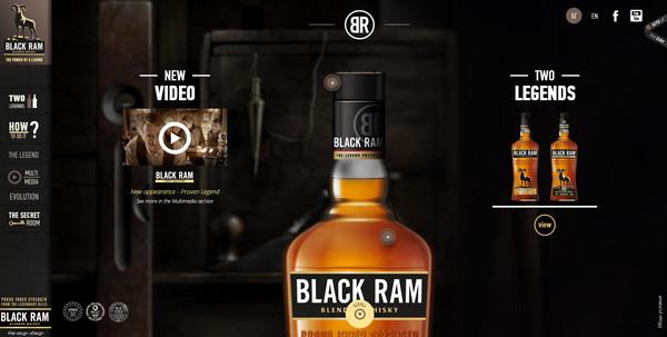 Black Ram Whisky